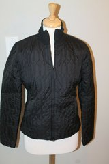 Ann Taylor LOFT Black Quilted Short Jacket, Size 6 in Naperville, Illinois