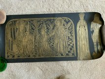 Brass Rubbings, Knight, Lady in Waiting, Bishop Jean Avantage 15th century! REDUCED!! in Fort Leonard Wood, Missouri