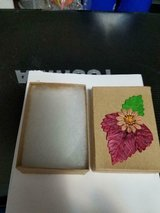 Small Decorated Handmade Lidded Cardboard Gift Box! in Bellaire, Texas