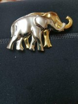 Vintage Gold and Silver Tone Elephant Brooch! So cute! in Bellaire, Texas