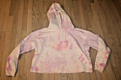 Wild Fable Pink Tye Dye Cropped Hoodie, Large in Naperville, Illinois