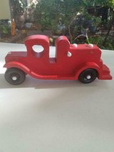 """Homemade Red Wooden 10"""" Car! in Spring, Texas"""