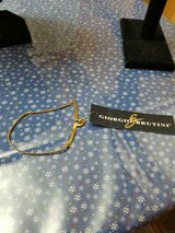 New GIORGIO BRUTINI Men's Goldtone Herringbone Tie Chain Tie Clip! w/ Original Tag in Bellaire, Texas
