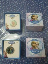 2 Brand New Disney Frozen Boxed Necklace Sets Elsa & Elsa, Olaf, and Anna! in Kingwood, Texas