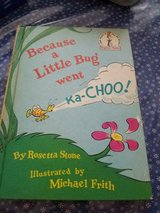 1975 Vintage Dr.Seuss Children's Book: BECAUSE A LITTLE BUG WENT ka-CHOO in Bellaire, Texas