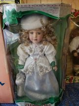 2000 VICTORIAN BOWS Original Porcelain Doll by Melissa Jane in Original Box! in Bellaire, Texas