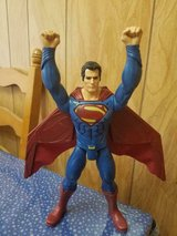 """11"""" Poseable SUPERMAN Action Figure!  Pull Down Back Plug and Cape Opens Up! in Kingwood, Texas"""