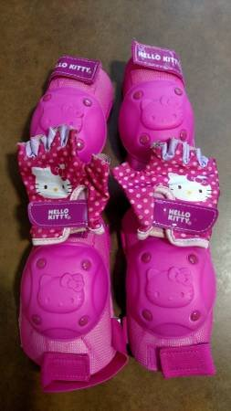 6d5e3ab62 Cute! Bell Hello Kitty Pedal and Go Protective Gear (T=45) | Fitness ...