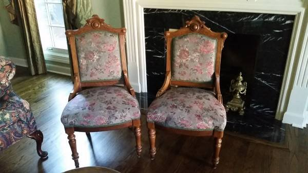 Chairs   Eastlake Style  2 Available | Furniture For Sale On Orland Park  Bookoo!