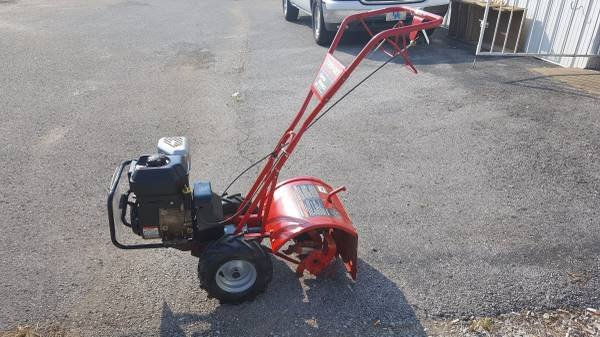 Genial Troy Bilt Super Bronco CRT 208cc 16 In Rear Tine Tiller (L37128