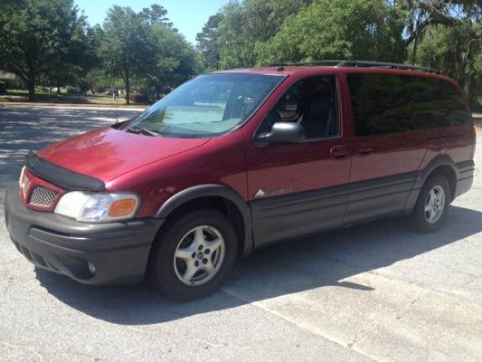 Low Miles Nice 2004 Pontiac Montana Minivan In Savannah