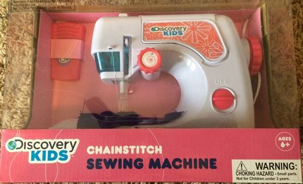BRAND NEW Discovery Kids Chainstitch Sewing Machine Age 40 Baby Stunning Discovery Kids Sewing Machine