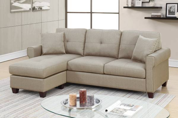 Wondrous New 2 Pcs Sectional Sofa F6572 Free Delivery Furniture Caraccident5 Cool Chair Designs And Ideas Caraccident5Info