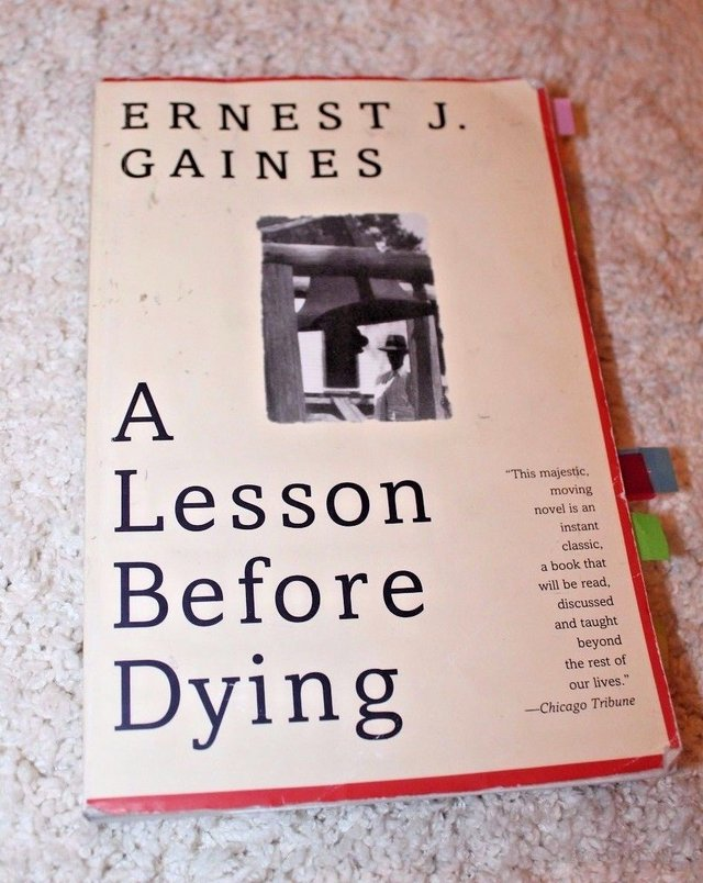 concepts angle of interpretation and colorism in a lesson before dying a book by ernest j gaines There isn't a lesson for writers and for assistant professor of english you'll like this book if you like not the dying so much but in the humor.